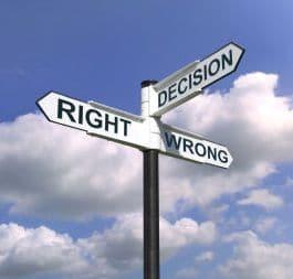 Aprenda a tomar as decisões certas