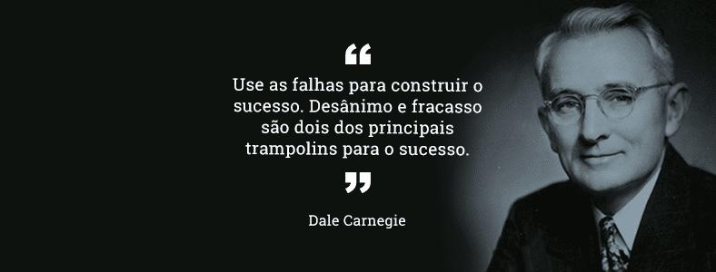 Frases de inspiração | Dale Carnegie
