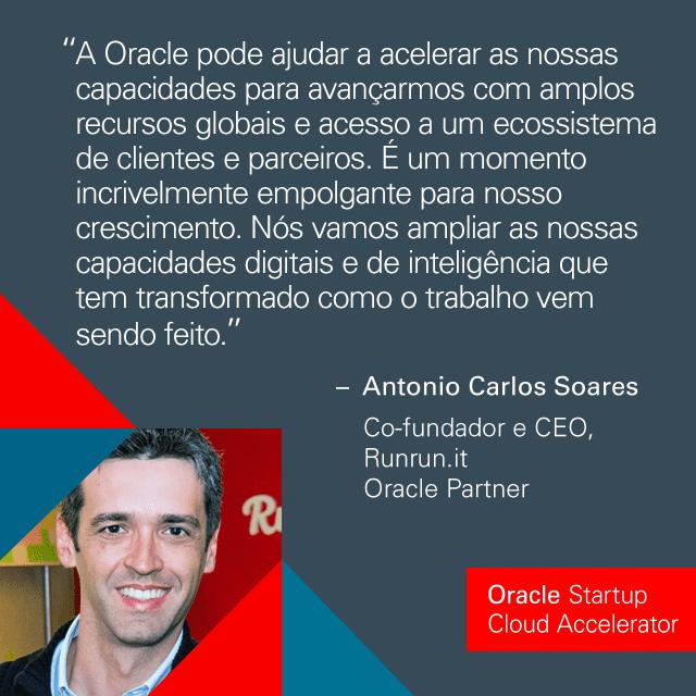 Oracle Startup Cloud Accelerator São Paulo